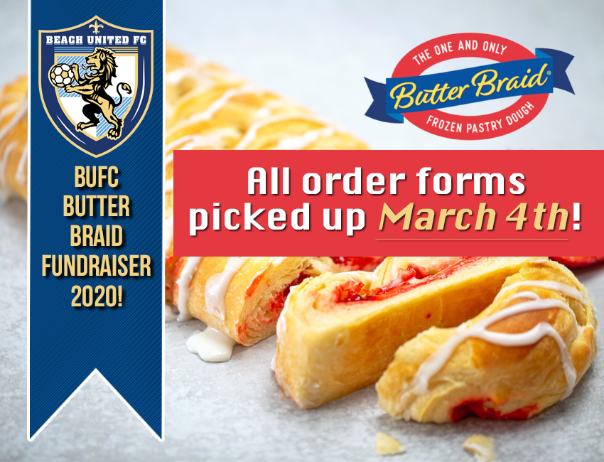 Butter Braid Fundraiser Orders Pick Up!