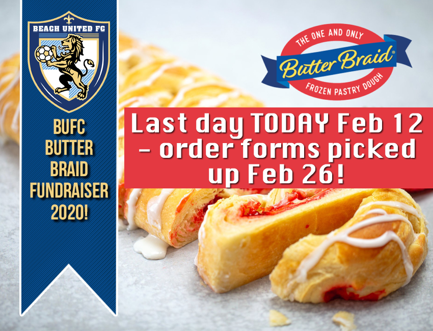 Last Day for Butter Braid Fundraiser!