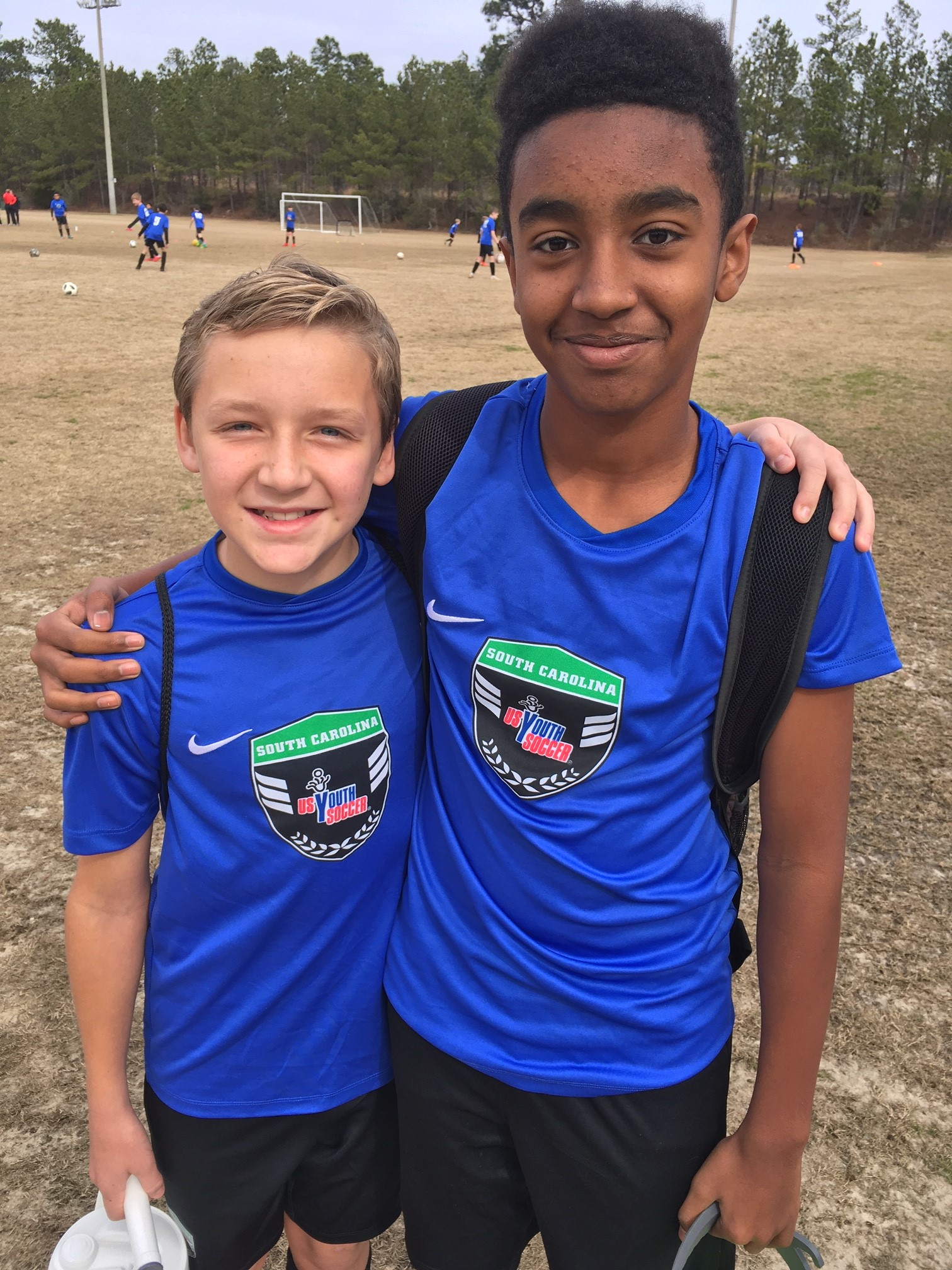 Baird, Hedges Help SC ODP Team 1 to Historic Victory