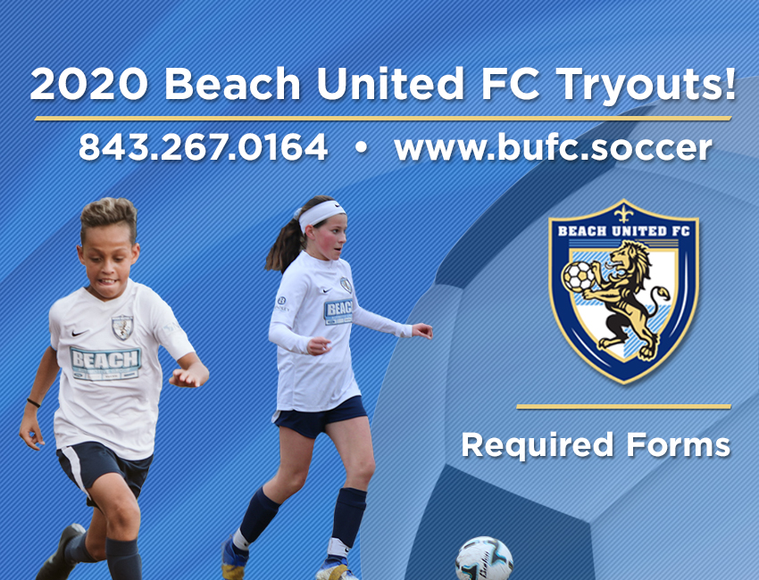 BUFC Tryout Required Forms