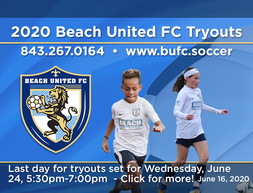 BUFC TRYOUTS 2020