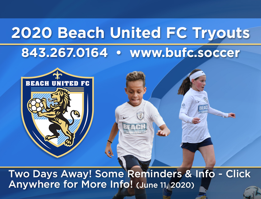 BUFC Tryout Update