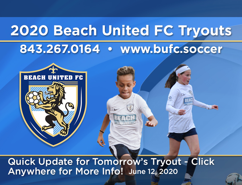BUFC Tryouts, June 12, 2020