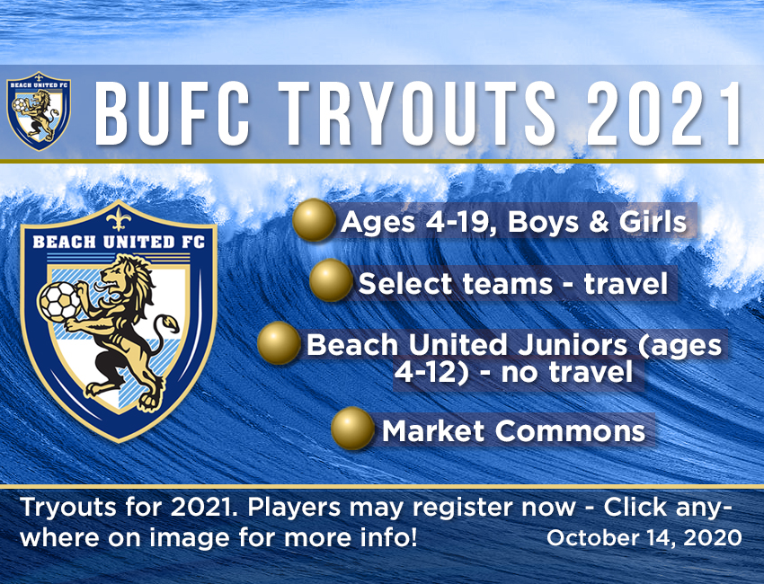 BUFC Tryouts 2021